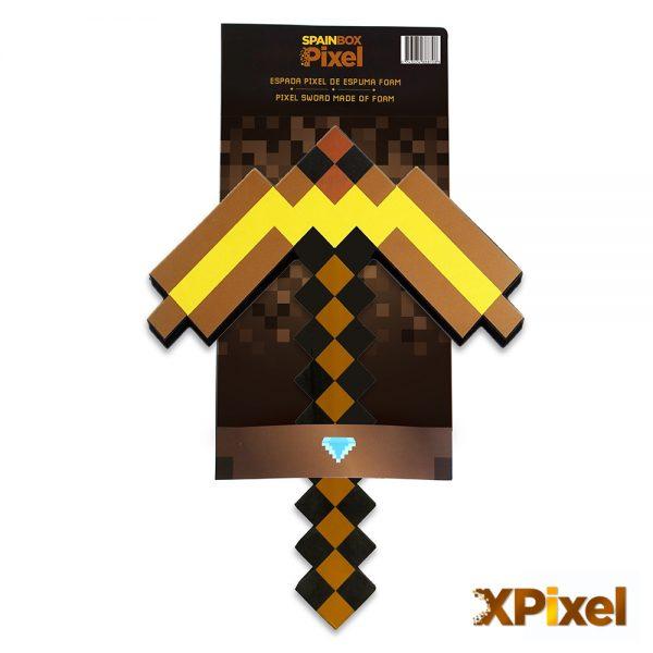 espada-pico-oro-minecraft-spainfactory-pixel-1000x1000px