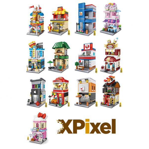 Xpixel todas las tiendas